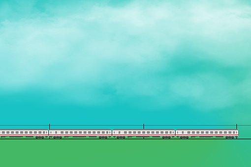 Train, Railway, Traffic, Travel, On The Go, Intercity