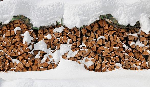 Wood, Firewood, Tree Trunks, Fireplace, Campfire