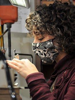 Woman, Artisan, Art, Crafts, Design, Workshop, Work