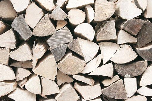 Wood, Firewood, Tree Trunks, Fireplace, Campfire, Fire