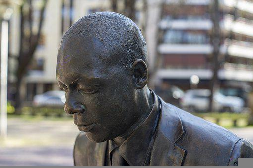 Statue, Monument, Park, Wynton Marsalis, Musician