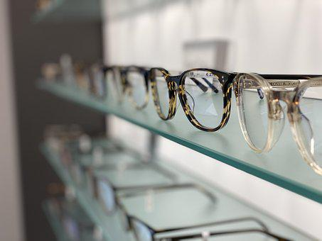 Glasses, Frames, Shelves, Optician, Business, Optical