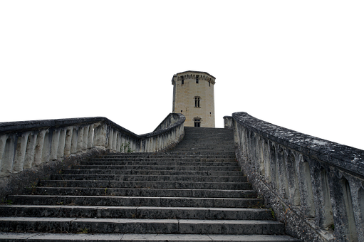 Stairs, Tower, Medieval, Staircase, Steps, Structure