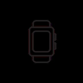 Watch, Time, Icon, Timepiece, Wristwatch, Symbol