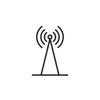 Tower, Signal, Icon, Lighthouse, Telecommunication