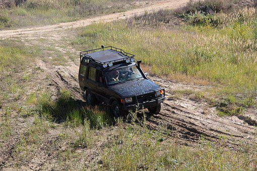 Land Rover, Vehicle, Offroad, Mud, Off-roading, Car