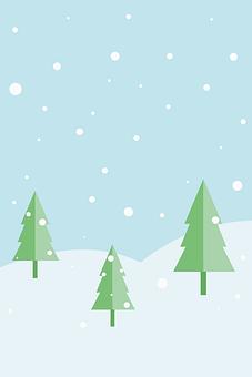 Winter, Christmas Tree, Snow, Tree, Landscape