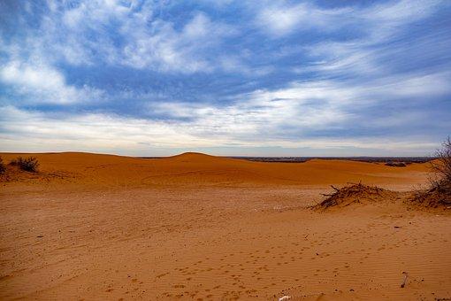 Desert, Sand, Dune, Dry, Arid, Land, Landscape, Nature