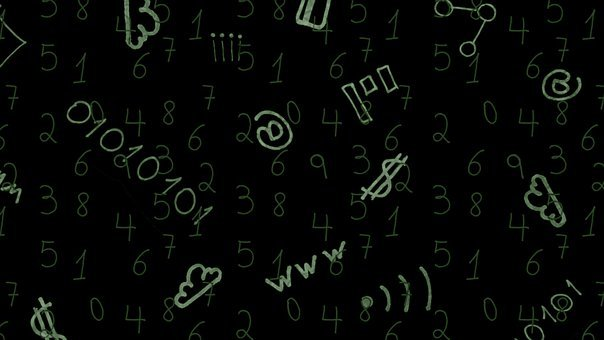 Technology, Doodle, Background, Pattern, Numbers