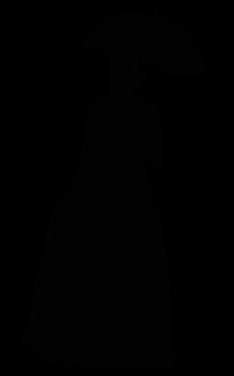 Silouhette, Silhouette, Woman, Shadow Image-art, Female