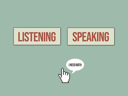 Listening, Speaking, Importance, Voice, Speak, Listen