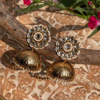 Golden, Jewelry, Fashion, Photography, Wedding