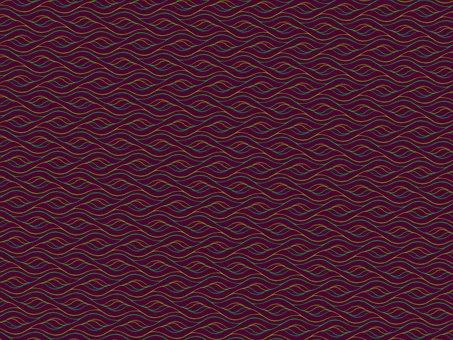 Abstract, Waves, Background, Pattern, Burgundy, Dark