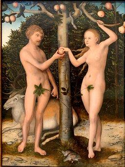 Adam And Eve, Genesis, Painting, Cranach, Lucas Cranach