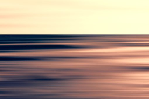 Sea, Wave, Sunset, Abstract, Water, Ocean, Seascape