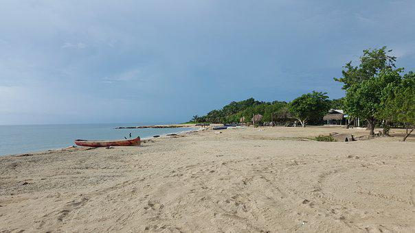 Colombia, Town, Beach, Nature, Ecology, Ecoturism, Wave