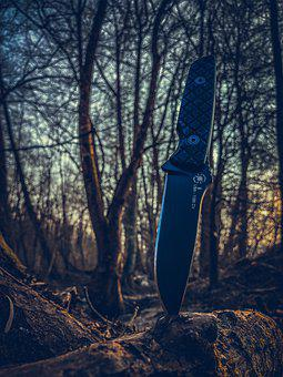 Knife, Weapon, Wood, Spartan Knife, Folding Knife