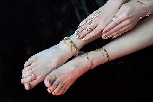 Fingers, Legs, Pedicure, Fetish, Foot Fetish, Hands