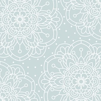 Ornamental, Pattern, Background, Abstract, Flowers