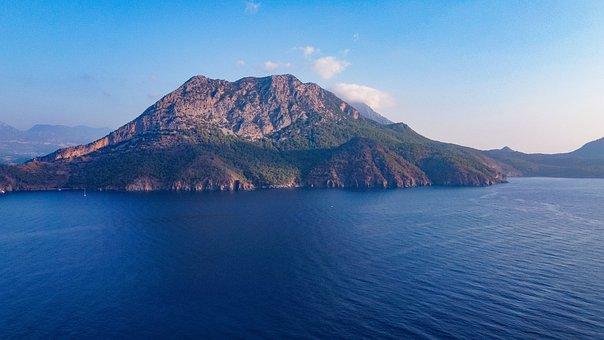 Turkey, Adrasan, Sea, Landscape, Nature, Trail