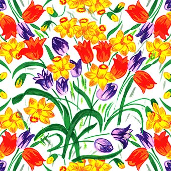 Spring, Spring Flowers, Background, Daffodil, Daffodils