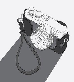 Camera, Photography, Retro, Old, Lens, Film Camera