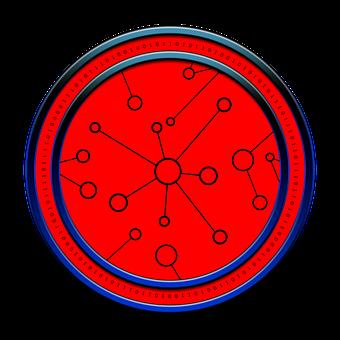 Cyber, Digital, Icon, Circle, Binary, Binary System