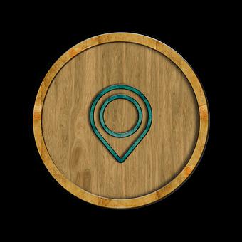 Icon, Symbol, Button, Location, Navigation, Navigate