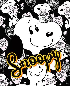 Snoopy, Dog, Cartoon, Character, Beagle, Comic