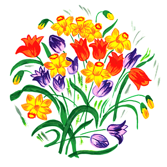 Tulip, Tulips, Spring, Early Spring, Square, Wish
