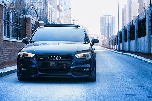 Car, Audi, Street, Vehicle, Road, Auto, Automobile