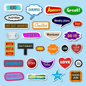 Stickers, Labels, Banner, Tags, Badge, Decorative