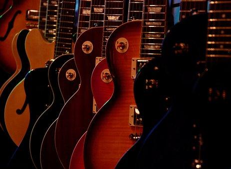 Music, Guitar, Dark, Instruments, Strings, Musical