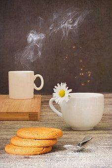 Biscuit, Coffee, Tea, Coffee Break, Ginger Snap, Food