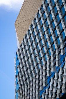 Building, Skyscraper, Glass, Facade, Modern, Urban