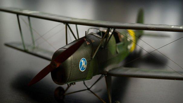 Bucker Bü131, Aircraft, Model, Biplane, Double Decker