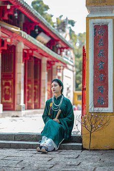 Viet Phuc, Fashion, Clothing, Hand Fan, Woman