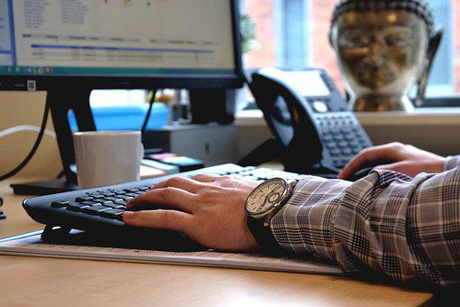 Computer, Office, Desk, Business, Work, Writing