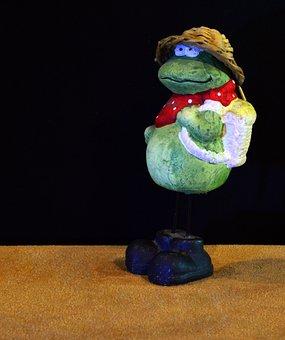 Frog, Ceramic, Figurine, Decoration, Decorative