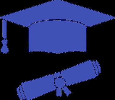 Graduate Hat, Diploma, Icon, Graduate Cap, Academic Cap