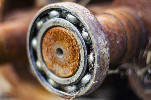Wheel, Gears, Metal, Bearing, Rusty, Machinery, Oxide