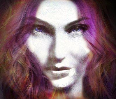 Face, Intense, Serious, Woman, Portrait, Girl, Person