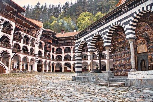 Rila Monastery, Monastery, Buildings, Christianity
