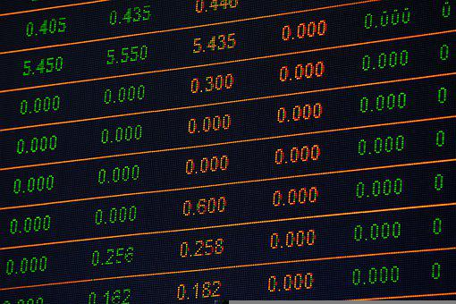 Stock Market, Finance, Numbers, Data, Stock, Financial