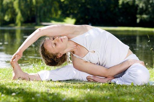 Woman, Yoga, Asana, Sport, Meditation, Pose