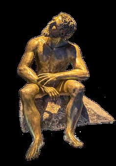 Zeus, God, Statue, Sculpture, Antiquity, Myth