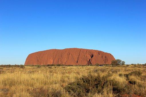 Ayers Rock, Australia, Uluru, Nature, Rock