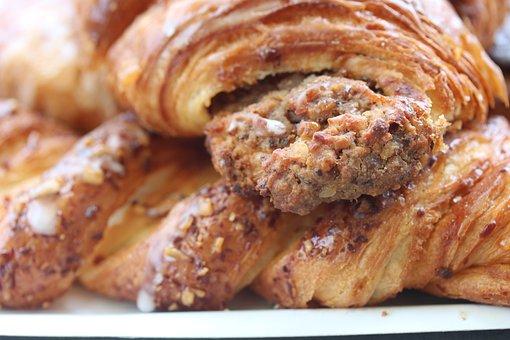 Nusshoernchen, Baecker, Sweet, Baker, Fine Pastry
