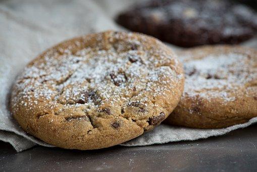 Cookies, Nut Cookies, Light Cookies, Bake, Food