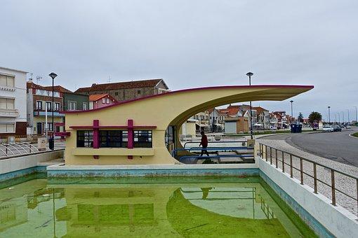 Bus Stop, Costa Nova, Architecture, Modern, Public